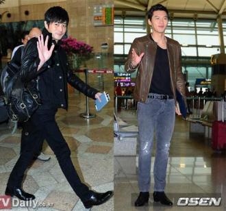 Phong cách như thời trang sân bay của sao Hàn