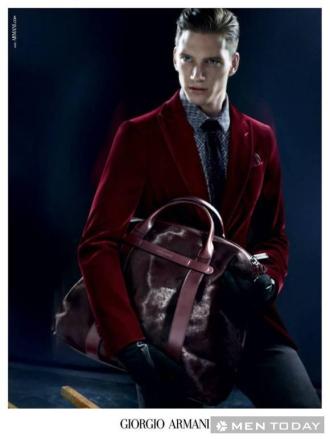 Sang trọng với chiến dịch thu đông của guu thời trang Giorgio Armani