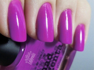 11 mẫu nail màu tím cho nàng hấp dẫn, huyền bí