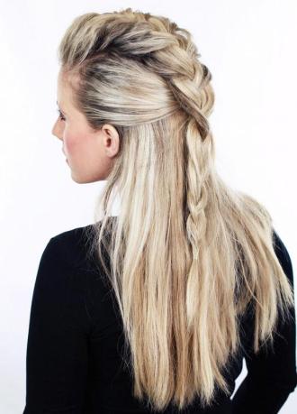 Những kiểu tóc Hàn sang trọng quyến rũ cho bạn gái dự tiệc
