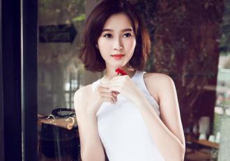 Trang điểm đẹp rạng ngời của hoa hậu Đặng Thu Thảo