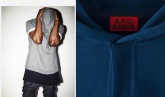 BST cực chất của A.P.C kết hợp với Kanye West