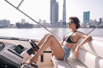 Hoa hậu điện ảnh Huỳnh Yến Trinh gợi cảm hút hồn