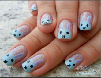 20 mẫu móng tay hình con vật siêu dễ thương