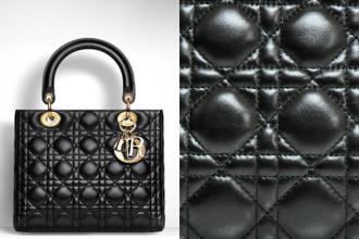 Bạn có biết túi xách Dior làm từ những chất liệu gì ?