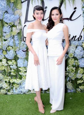 Nam Em, Diệu Linh xinh đẹp ra mắt cửa hiệu thời trang