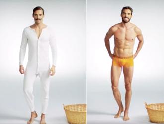 Sự thay đổi của đồ lót nam giới 100 năm qua