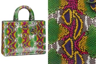 Túi xách Dior hàng chục nghìn USD làm từ da động vật nào