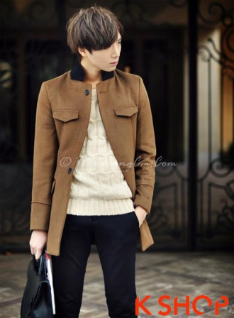 24 kiểu áo khoác nam măng tô dạ lịch lãm cho chàng công sở