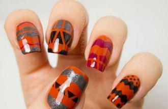 25 mẫu nail màu metallic 'đẹp- độc- lạ'