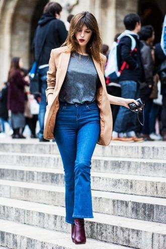 Bạn đã biết mặc quần jeans lửng đúng cách?