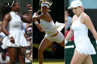 Loạt váy áo ngắn, hở, lạ gây ồn ào tại Wimbledon