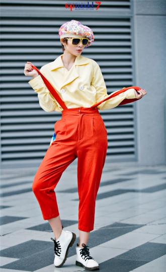 Năng động với gợi ý thời trang hè của Kim Nhã