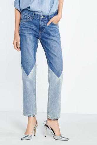 Quần jeans 2 màu - xu hướng phải thử ngay