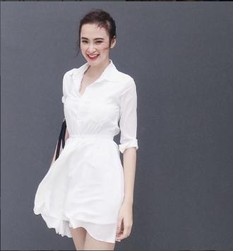 Váy Angela Phương Trinh hot đến mức chị em sẵn sàng mua lại đồ cũ