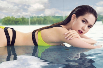 Bikini 550 ngàn đồng của Ngọc Trinh
