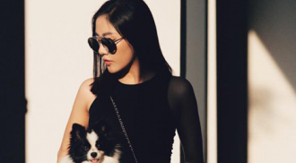BST đồ đen không nhàm chán của Văn Mai Hương
