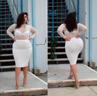 Đây là những lý do nàng béo không nên mặc xuyên thấu!