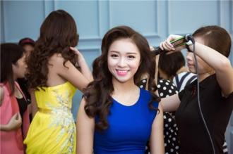 Vẻ đẹp của thí sinh Hoa hậu Việt Nam trong trang phục dạ hội