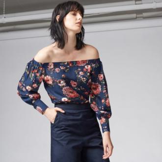 Bộ đôi mới của mùa: Style buông rủ kết hợp họa tiết in hoa.