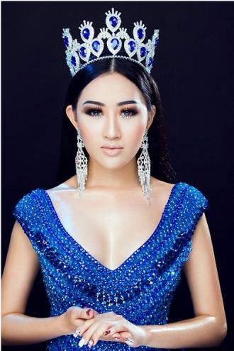 Hoa hậu Huỳnh Thuý Anh đẹp lạ với cách trang điểm tông đồng