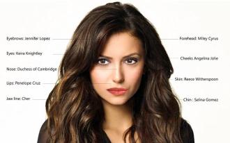 Lộ diện cô gái có gương mặt hoàn mỹ nhất thế giới