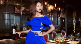 Ngắm siêu mẫu Thanh Hằng kiêu sa với đầm dạ hội