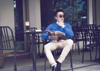 Áo len nam phong cách Hàn cho chàng cuốn hút xuống phố