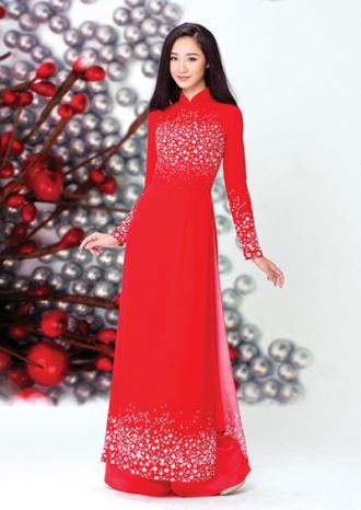 BST áo dài lấy cảm hứng từ đá quý của NTK Thái Tuấn