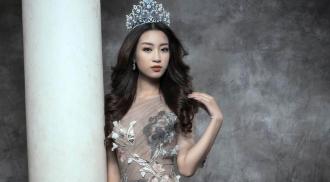 Hoa hậu Đỗ Mỹ Linh quyến rũ trong những thiết kế dạ hội