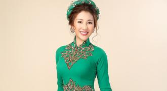 Tự hào trang phục truyền thống của đại diện Việt ở HH Liên lục địa
