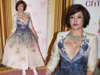 Trang phục tôn vòng một của Lưu Hiểu Khánh