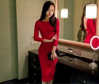 Váy đầm ôm boby đẹp cho nàng khoe đường cong