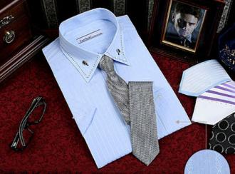 Mix sơ mi nam với cà vạt cho quý ông công sở sang trọng hè 2017