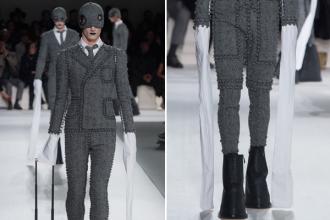 Mốt tay áo dài quét đất lên ngôi tại Paris Fashion Week