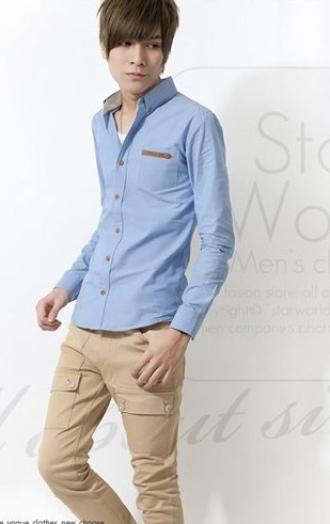 Những áo sơ mi nam dài tay 'cực đẹp' cho chàng công sở