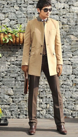 Áo khoác nam măng tô cho chàng 'chân dài'