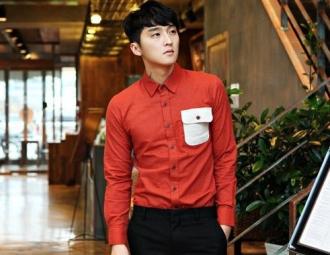 Sành điệu trẻ trung với áo sơ mi nam Hàn Quốc đẹp hè 2017