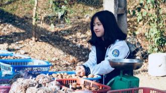 Cô bé bán óc chó ở Hà Giang đã bất ngờ trở lại