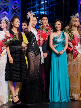 Cú đúp của Jasmine Le tại Hoa hậu Người Việt Thế giới