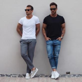 Áo thun nam cổ tròn – Chọn và mặc như thế nào cho đẹp?