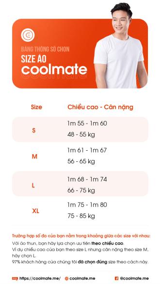 Chọn size áo thun nam khi mua sắm online