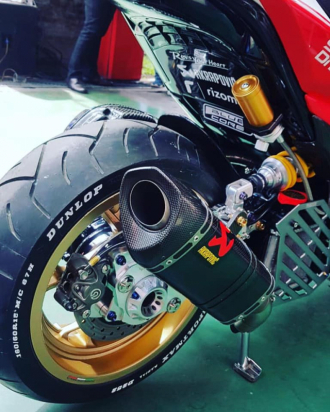 NVX 155 bản nâng cấp ấn tượng phong cách Ducati