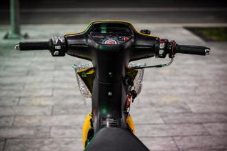 Wave độ và những trang bị chỉ thấy trên xe mô tô
