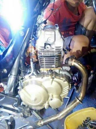 Raider R150 độ ngược đời thành 125cc - SOHC mạnh mẽ