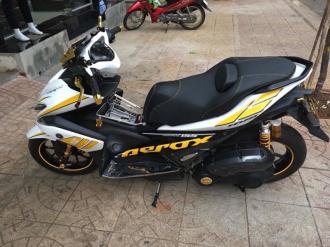 Yamaha NVX 155cc với khối trang bị hoàng kim độc đáo