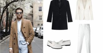 Cách chọn áo khoác măng tô nam độc đáo