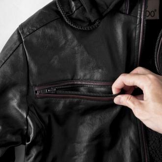 Hướng dẫn cách phối đồ cùng áo khoác da nam cá tính