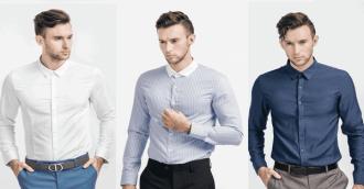 Những điều cần biết khi chọn mua áo sơ mi nam trung niên