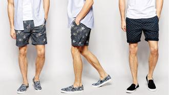 Phối đồ cực chuẩn cùng quần Short nam cá tính